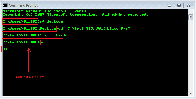 Command Prompt - Intermediate Commands