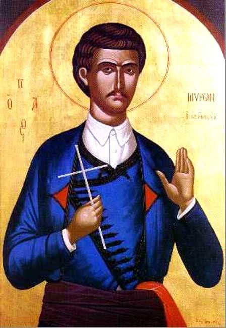 IMG ST. MYRON of Crete, New Martyr