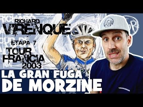 TDF2003. 'LA GRAN FUGA DE MORZINE'. Tour de Francia 2003. Etapa 7 - Alfonso Blanco