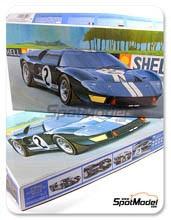 Kit 1/24 Fujimi - Ford GT40 Mk II - Nº 2 - 24 Horas de Le Mans 1966 - maqueta de plástico