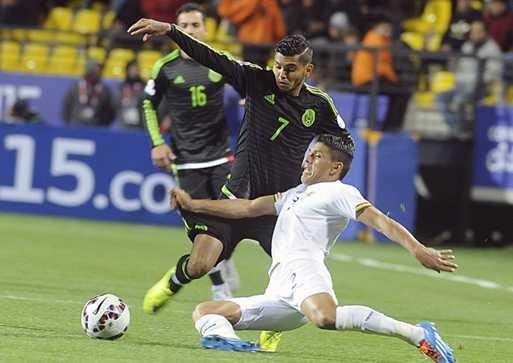 México e Bolívia fazem jogo feio e não saem do empate