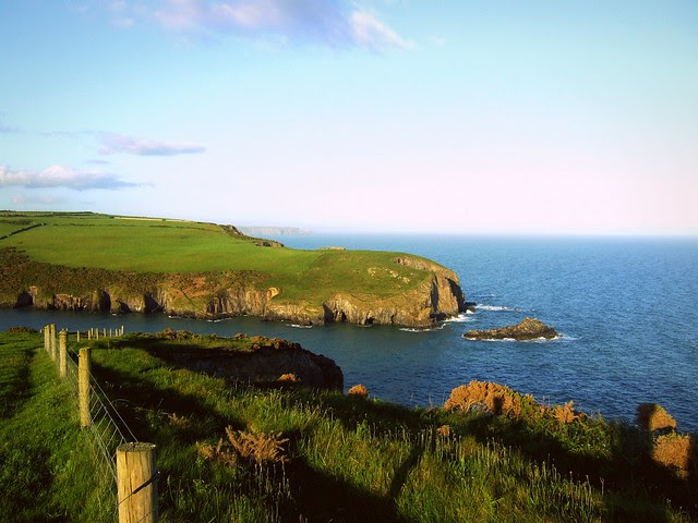 Cliffs at Dungarven