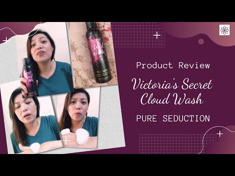 Review: Victoria Secret Pure Seduction Cloud Wash