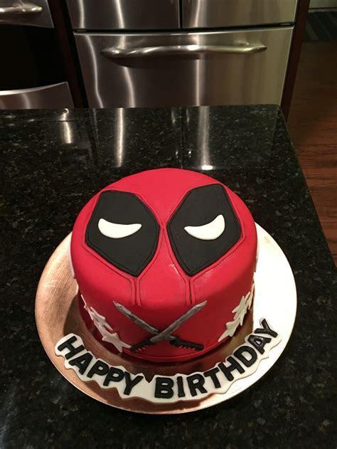 25  Best Ideas about Deadpool Cake on Pinterest   Marvel