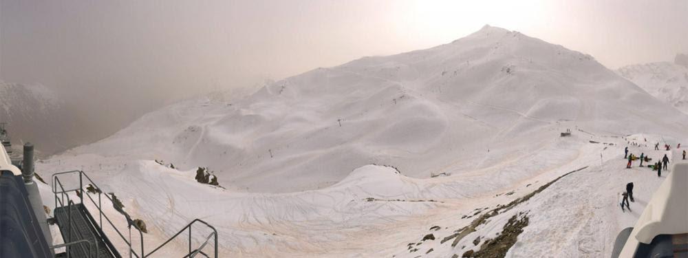 """Résultat de recherche d'images pour """"Du sable du Sahara recouvre la neige des Pyrénées"""""""