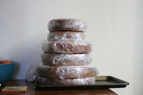 Kitchen Tip Of The Day:..Freezing Unfrosted Cakes!