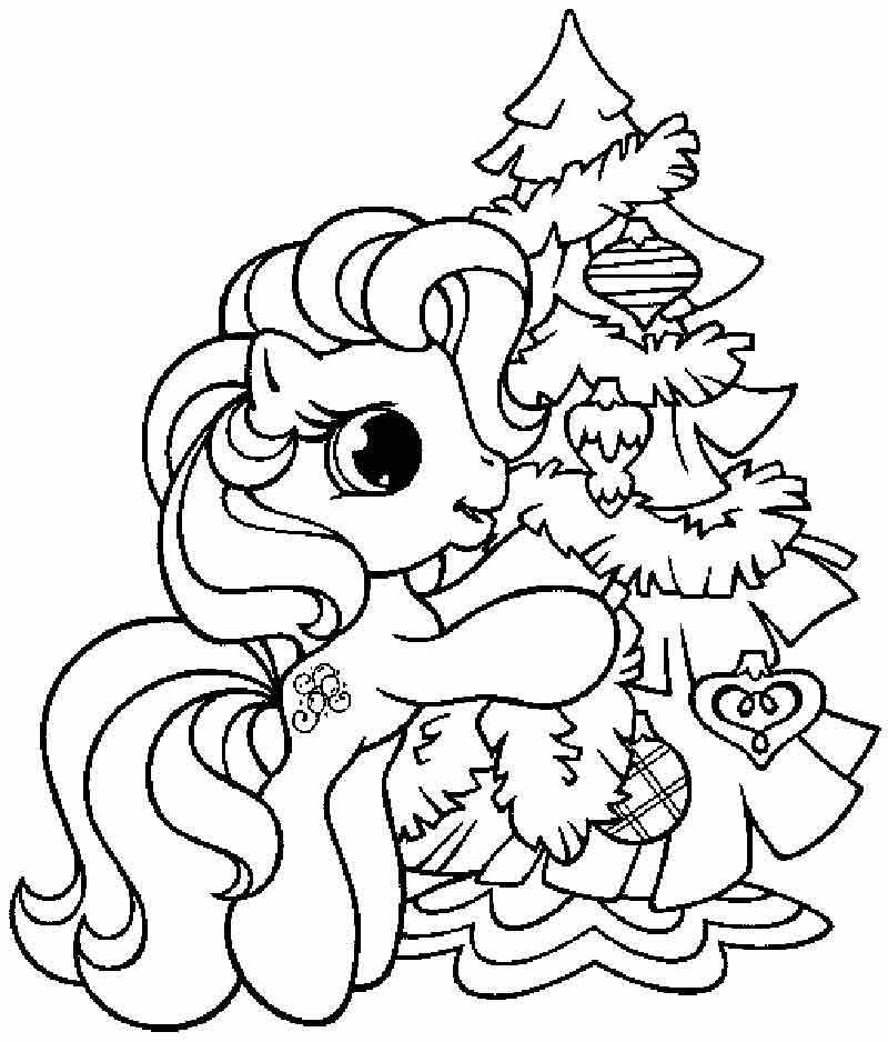 Free Coloring Pages Disney Christmas - Coloring Home