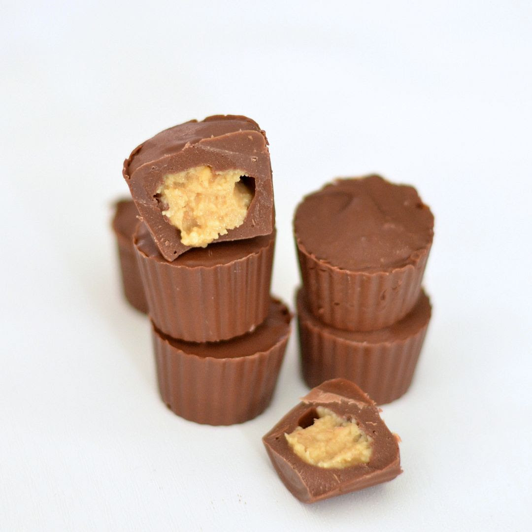 Home-made Mini Peanut Butter Cups