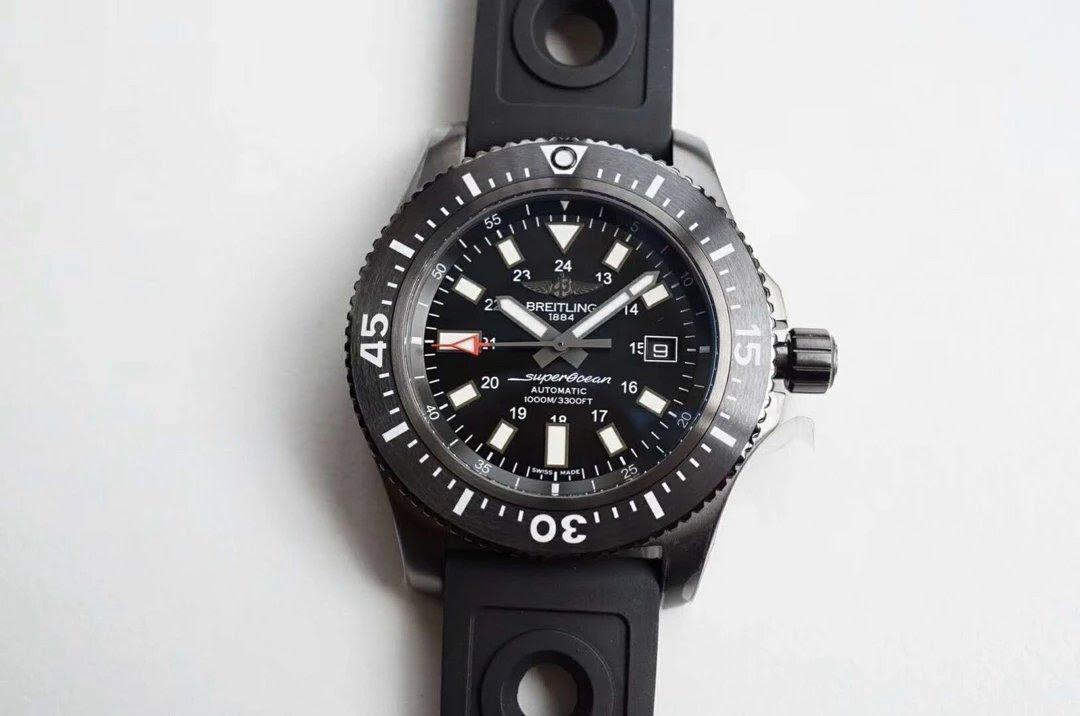 Replica Breitling Superocean 44 BlackSteel
