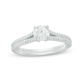 1 CT. T.W. Diamond Split Shank Engagement Ring in 14K