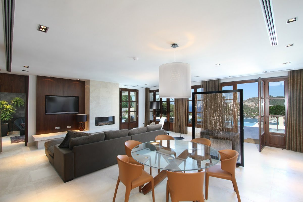Can Siurell Villa Interiors by Curve Interior Design