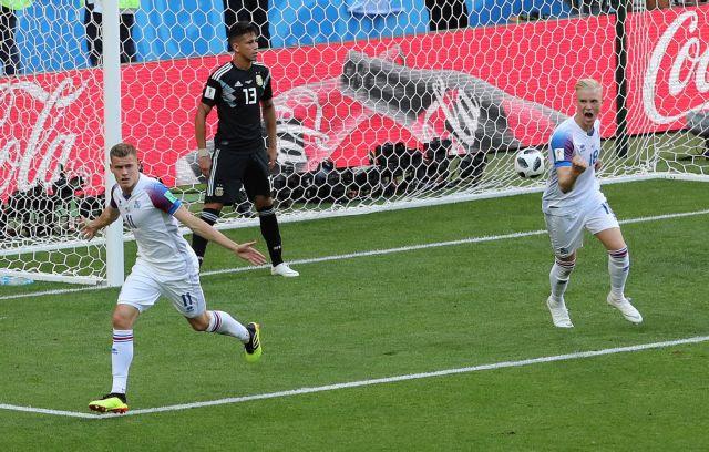 Η Ισλανδία «ψάρεψε» βαθμό από την Αργεντινή | in.gr