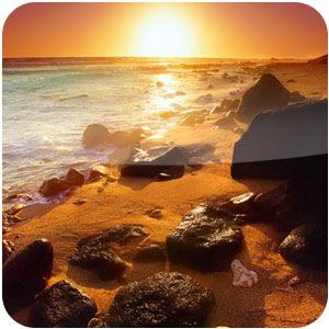 Tema Praias Brilhantes