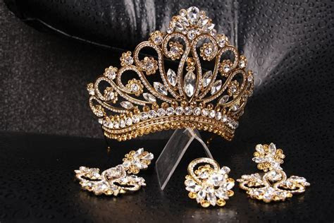 Popular items for gold tiara on Etsy   Tiara's   Tiaras
