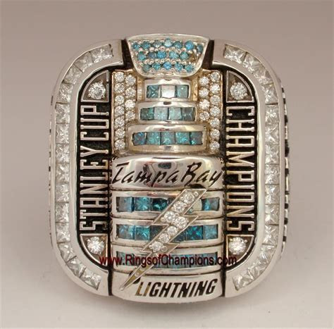 """2004 Tampa Bay Lightning """"Stanley Cup"""" Champions 14K Gold"""