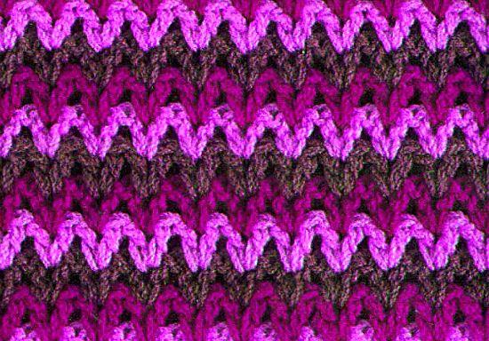 Punto 12 tejido a crochet