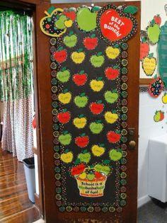 bullentin boards and door decoration.. on Pinterest