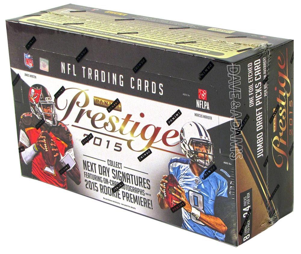 2015 Panini Prestige Football Hobby Box  DA Card World