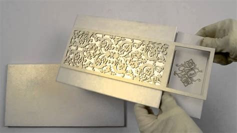 D 6186, White Color, Shimmery Finish Paper, Laser Cut