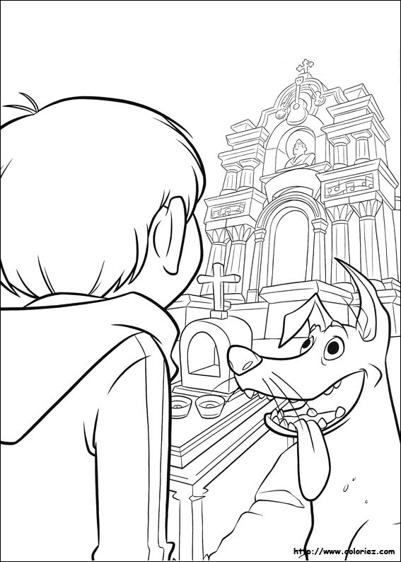 All About Pinto Dibujos Coco Para Colorear Pelicula Coco Mandala