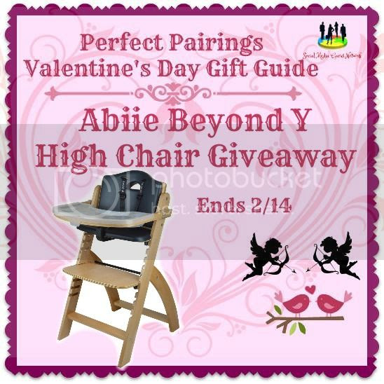 Abiie Beyond Y High Chair Giveaway. Ends 2/14