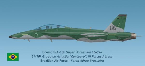 Hornets tienen futuro camuflaje FAB de F-5?