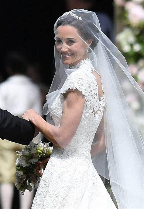 Pippa Middleton wedding dress: Giles Deacon dress, the