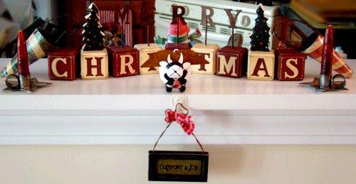 primitive blocks and ornaments