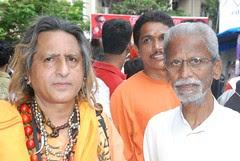Shiv Sena Dahi Handi Pandal Shivaji Park by firoze shakir photographerno1