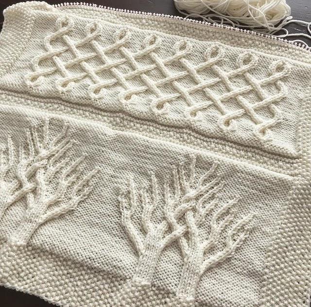Tree Of Life Knitting Pattern Blanket : Fluid Motion: [knitting] Tree of Life baby blanket