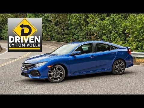2017 Honda Civic Si Sedan test drive and review