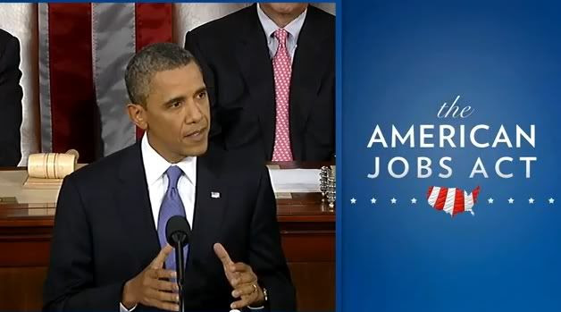 President Obama Address a Joint Session of Congress to introduce The American Jobs Act  Image provided by the White House  Cropped by Bobby Coggins
