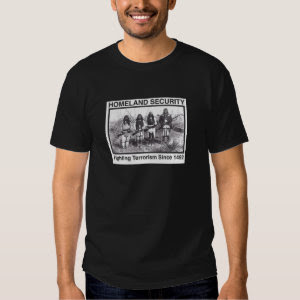 Native American Homeland Security T-shirt