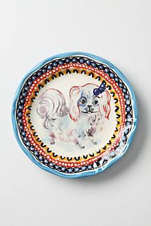 Shih Tzu Dinner Plate