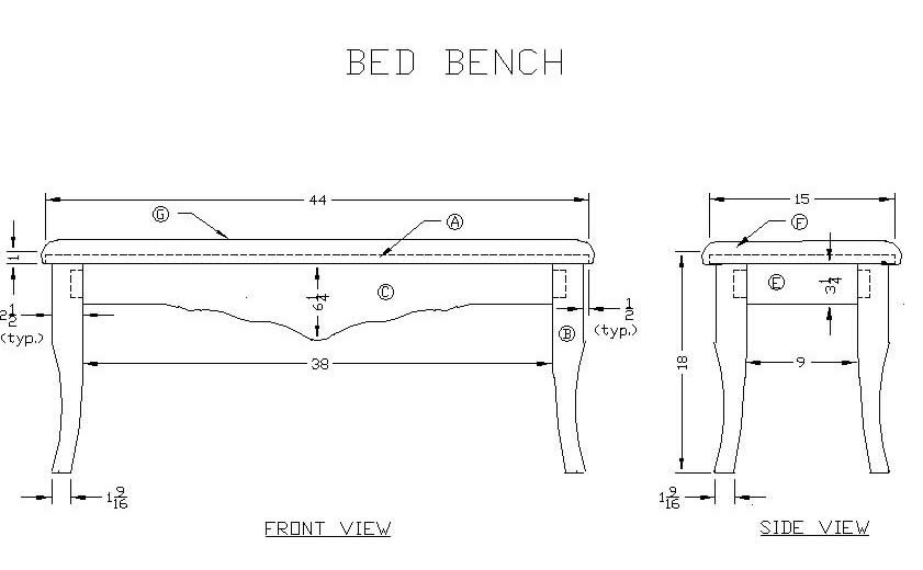 Woodworking Building Diy Bench For Foot Of Bed Guide