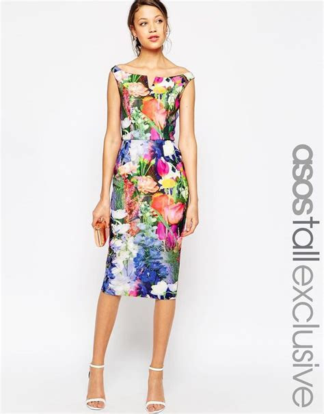 Floral print dress   Wedding Guest Dresses   Dresses
