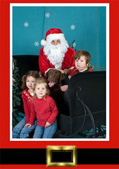 Rain with the kids w/santa.