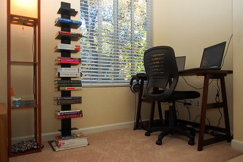 Sapien Bookcase in my study nook