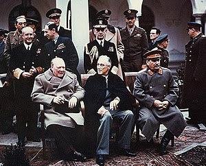 """The """"Big Three"""" at the Yalta Confere..."""