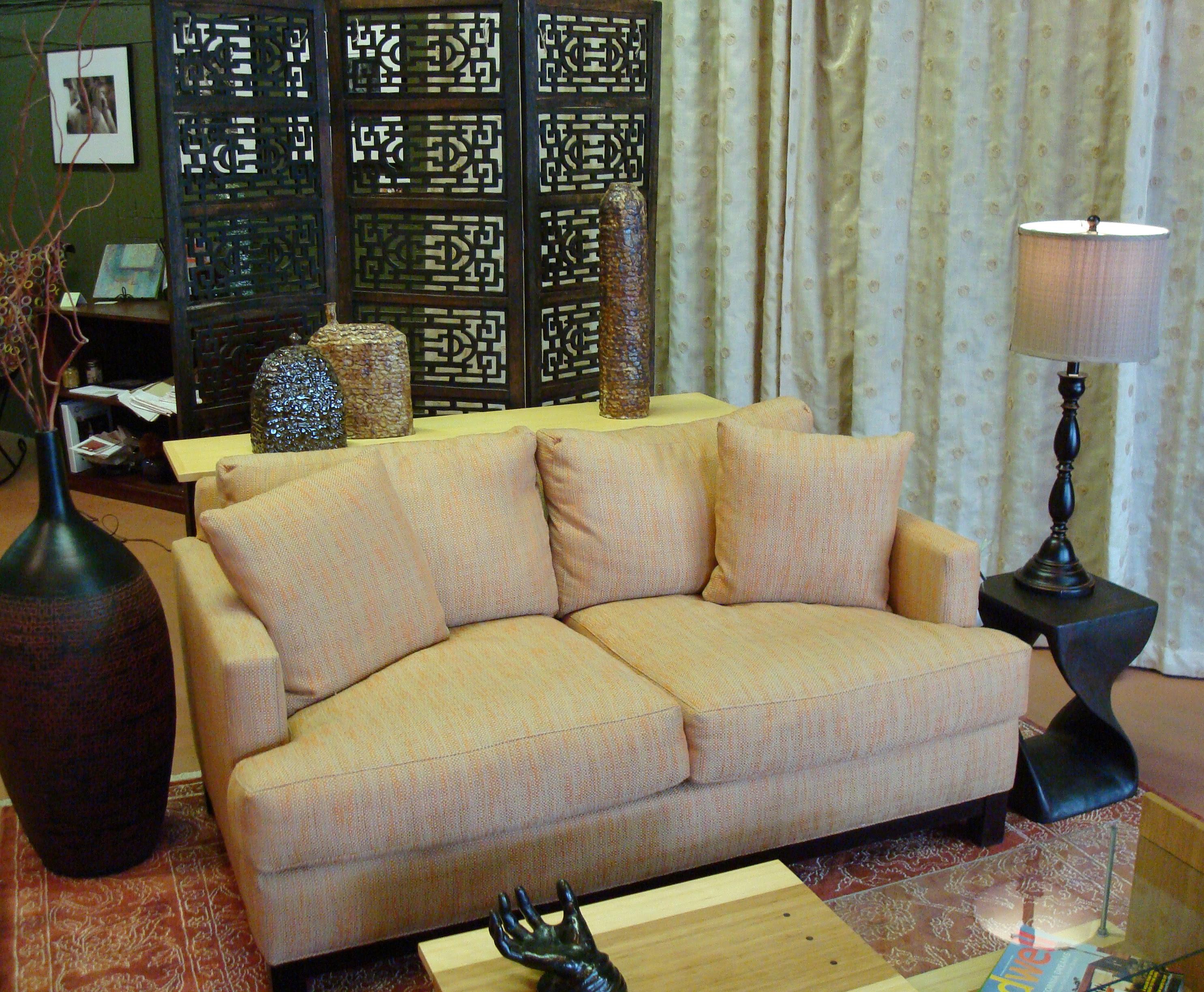 Bachelor Living Room Design: Earth tones | EcoKind Design: Green ...