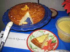 teresa's torta de queso coronada