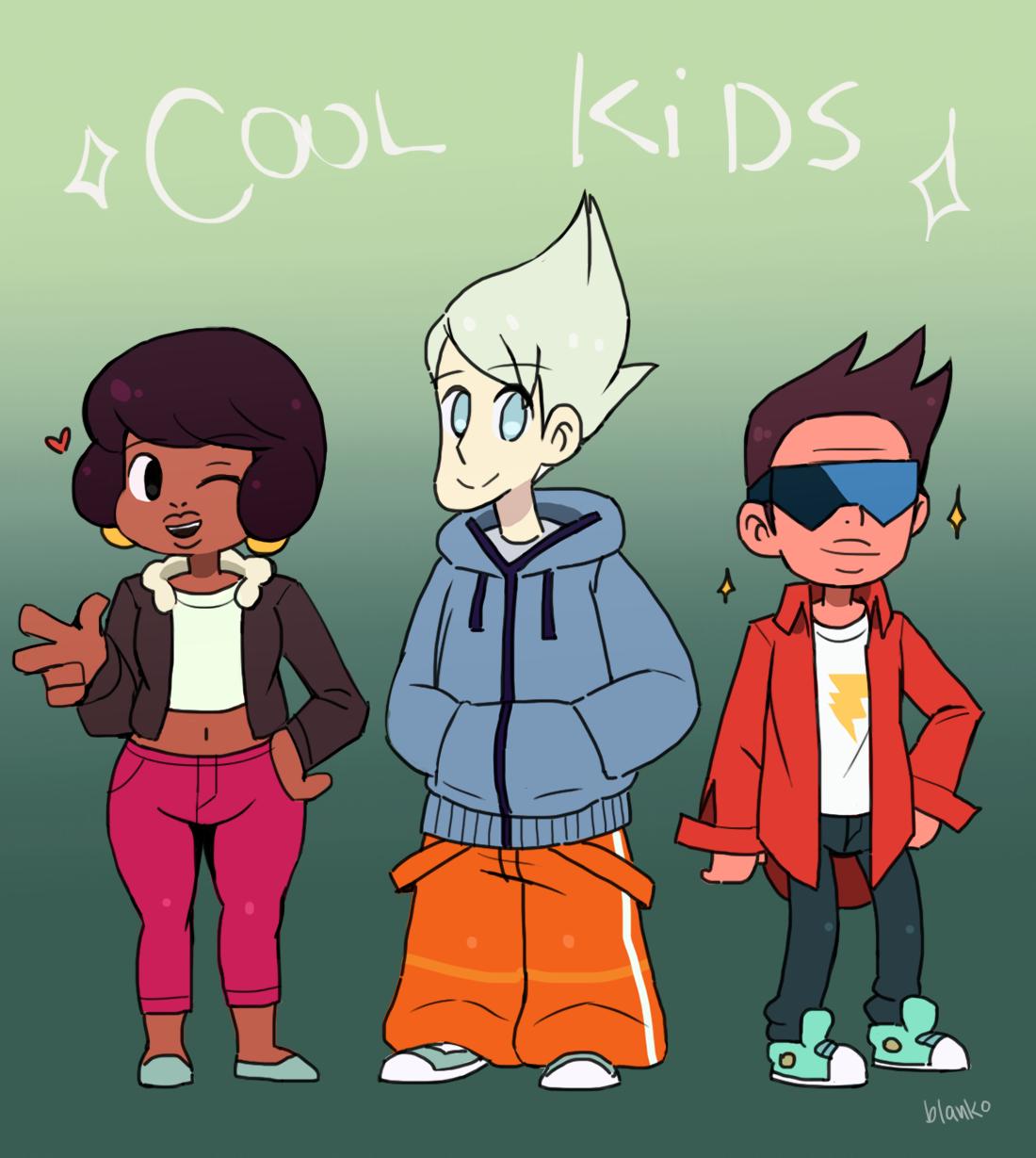 da kiddos, the gang - BlankoDraws