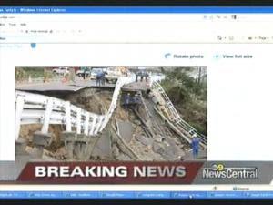 1st Look At Devastation In Haiti Quake