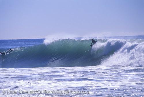 Surfers Zuma Beach Malibu California La Surfers