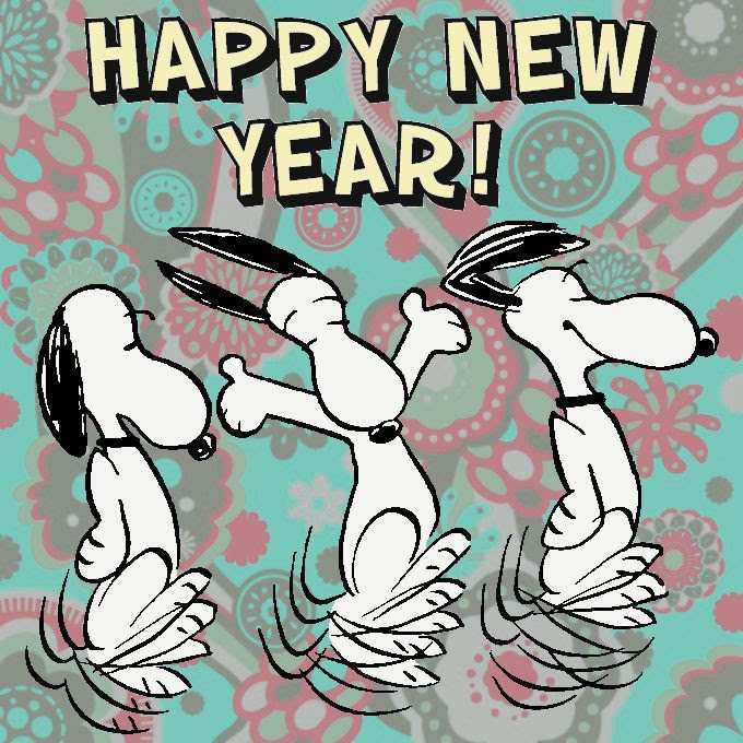 Dancing Happy New Year Snoopy Pictures Photos And Images For