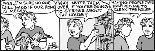 Home Spun comic strip #713