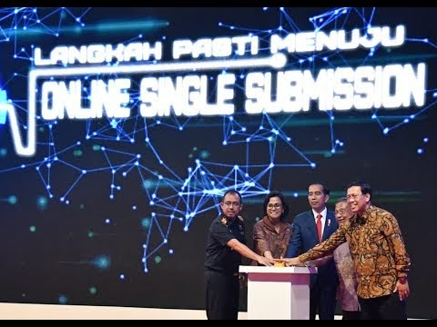 Acara Peluncuran Perizinan Online: Jokowi Tak Mau Tepuk Tangan Jika Perizinan Diselesaikan dalam Hitungan Bulan dan Hari