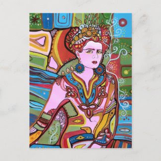 The Mexican Woman Postcard