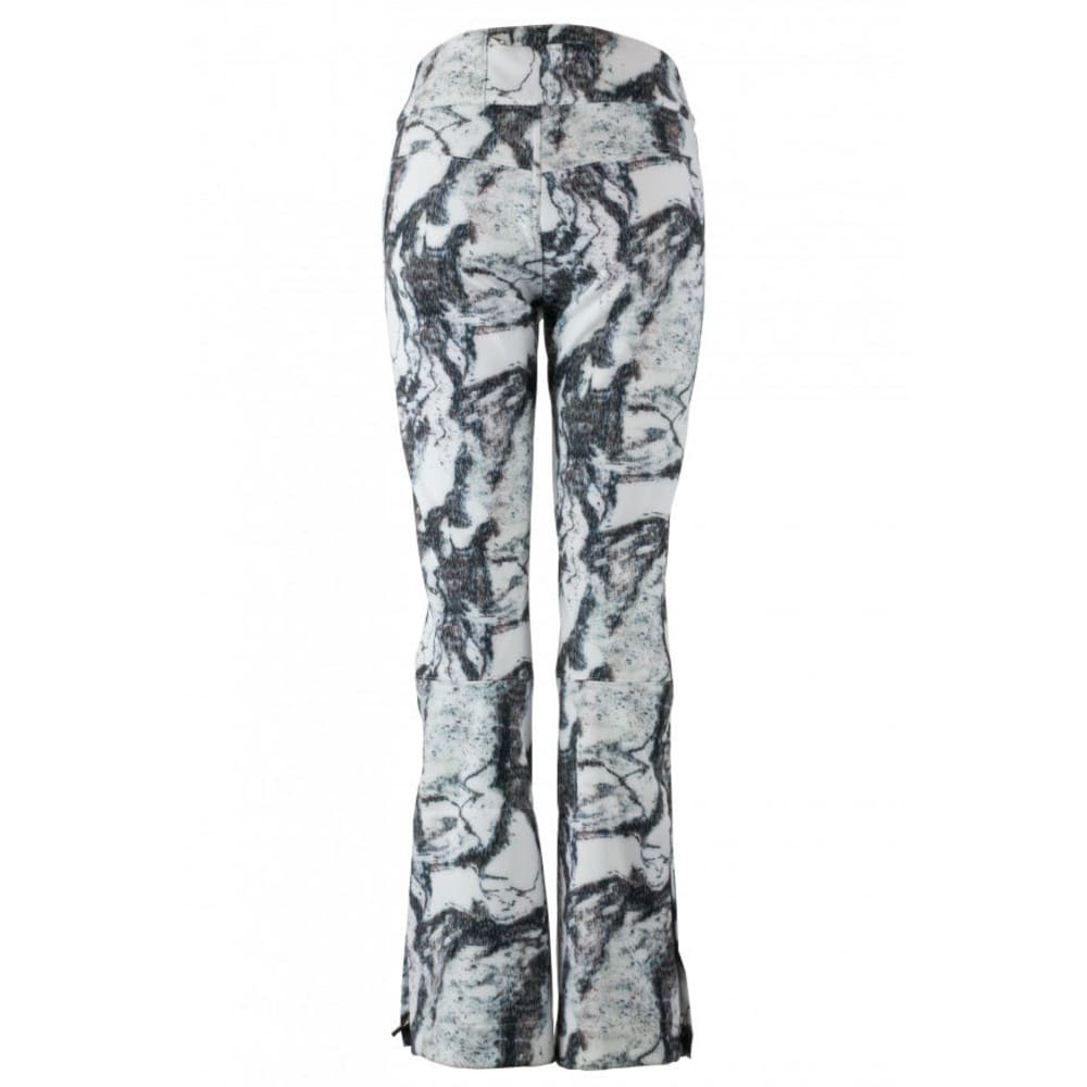 obermeyer women's printed bond ski pants  eastern