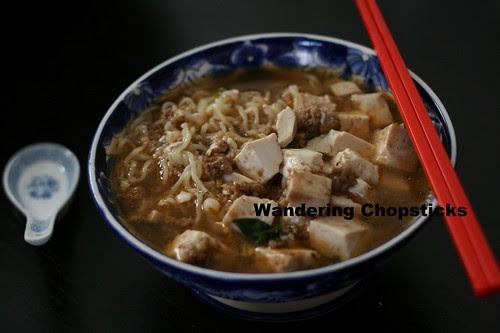 Mapo Tofu Ramen 1